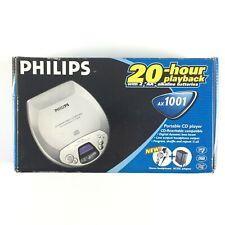 Philips AX1001 Walkman CD Baladeur Lecteur Portable Disque Discman Player