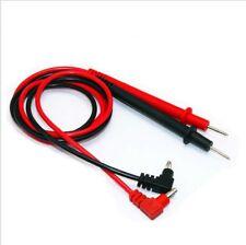 Universal Digital Voltmeter Multimeter Leads Probe Test Cable Clip UK