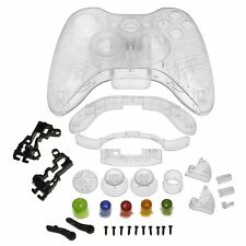 Crystal Shell Compatible with Microsoft Xbox 360 Wireless Controller , Clear CT