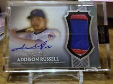 Addison Russell 2017 Topps Dynasty Autograph Patches #APADR5 Cubs 06/10