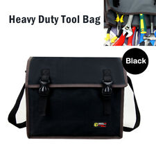 Heavy Duty Tool Bag Electrician bags Organizer Mechanic Storage Black