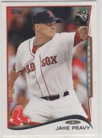 2014 Topps Baseball Boston Red Sox Team Set