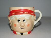 "VINTAGE KITCHEN 3"" HIGH 1972 KEEBLER COMPANY ELF PLASTIC CUP"