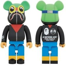 Neue MEDICOM TOY A Bathing Ape (R) x Hebru Brantley x Social Status be@rbrick 40...