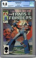 Transformers 2nd Printing #1 CGC 9.8 1984 1618374001