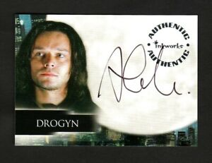 ANGEL SEASON 5 AUTOGRAPH CARD A40 ALEC NEWMAN DROGYN