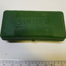 Singer Vintage Buttonholer With Case and Extra Parts & Accessories  with manual