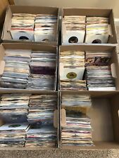 "Nice Lot Of 20 45's Records 1960s-1980s 7"" Vinyl"