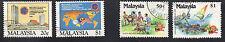 stamps MALAYSIA A151(2) A154(2) SET LOT MNH