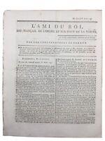 L'ami du roi 1791 Gonesse Régiments Suisses Brie Comte Robert drapeau rouge