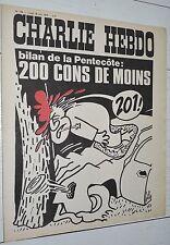 CHARLIE HEBDO N°135 18/06 1973 WOLINSKI CAVANNA CHORON REISER GEBE WILLEM CABU