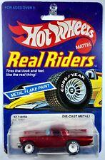 Hot Wheels '57 T-Bird, Real Riders - White Hubs - RARE