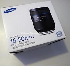 SAMSUNG EX-S 16-50mm F2-2.8 S ED OIS PREMIUM NX OBJEKTIV EX-S1650ASB *TOP WARE!