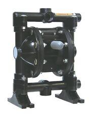 "1/2"" Aluminum/Hytrel Pump Double Diaphragm Air Pump, 220F, New In Box!"