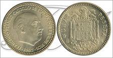 España - Monedas Franco circulación- Año: 1966 - numero 00286 - S/C- 1 pta 1963