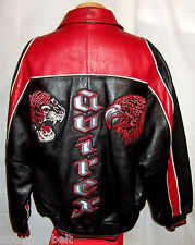 "AVIREX ""TIGER & EAGLE""  NEW YORK LEATHER Jacket/Coat**2XL**$700**EXCELLENT!"