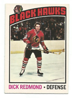 1976-77 O-Pee-Chee #12 Dick Redmond Chicago Blackhawks