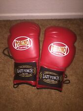 Torino Last Punch Boxing Gloves 14oz Red