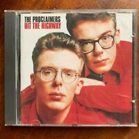 The Proclaimers Hit the Highway CD Male Vocal Rock Pop Album