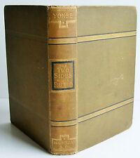 1886 TWO SIDES OF THE SHIELD Charlotte Mary Yonge illus HB VGC Macmillan