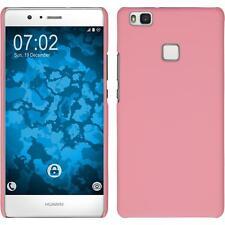 Funda Rígida Huawei P9 Lite - goma rosa + protector de pantalla
