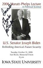 Signed Joe Biden Autograph 46th President Usa Jsa# Bb77580 Psa Beckett Full Loa