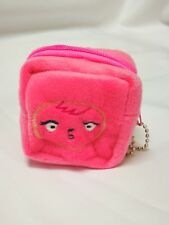Cute Cube Coin Purse - Pink Face