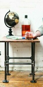 DIY Industrial Pipe Decor Table Leg Set Rustic End Table Side Table Base Kit