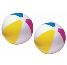 Lot of 2 - Intex Glossy Panel 24 inch Inflatable Swimming Pool / Beach Ball
