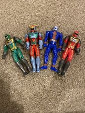 Power Rangers Collection Lot Of 4 2005 Bandai