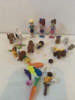 Lego Friends Mini Figures Bundle - Dolls, Animals, Accessories (40)