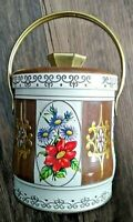 "VINTAGE 4.5"" Tall MURRAY ALLEN CONFECTIONS CANDY TIN PAIL*EMPTY*"