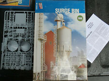 HO scale Surge Bin kit grain operation Walthers/Cornerstone plastic MIB kit