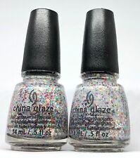 China Glaze Nail Polish It's A Trap-eze ! 1194 Cirque Du Soleil Multi Glitter