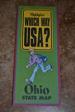 "Highlights Which Way Usa? Ohio State Map ""Vgc"""