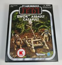 STAR WARS THE VINTAGE COLLECTION EWOK ASSAULT CATAPULT *BOX ONLY* K-MART 2013