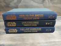 STAR WARS: Thrawn Trilogy Timothy Zahn All 1st Print Edition Hardcover SET 1991