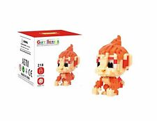 LNO Anime Pokemon  Blaziken  DIY  Block Diamond Mini Building (377pcs) with Box