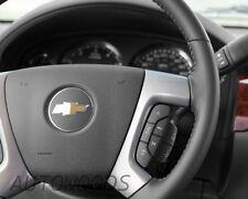 07 08 09 10 11 12 13 Suburban Tahoe Sierra Yukon Leather Steering Wheel OEM New