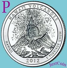 2012-P HAWAII VOLCANOES STATE PARK QUARTER ATB FROM UNCIRCULATED MINT ROLL