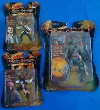 Pirates Of The Caribbean Will TURNER Jack SPARROW MACCUS Action Figures Zizzle