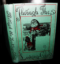 ** through the looking glass, Lewis Carroll.macmillan, hb, 1952. (28tgp7)