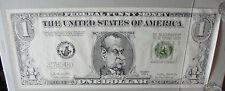 Vintage Political Poster President Richard Nixon Funny Money One Dollar Joke 70s