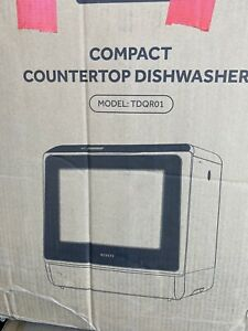 Novete compact coutertop dishwasher TDQR01