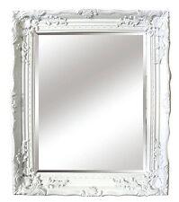 WHITE ORNATA Barocco Antico Shabby Chic STYLE Specchio Muro Nuovo Hall Camera da Letto