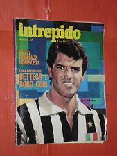 INTREPIDO formato albo -n°47- bobo gori- DEL 1972- da 130 lire- UNIVERSO