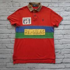 Polo Ralph Lauren C1 Rafting Polo Shirt Size M Vtg
