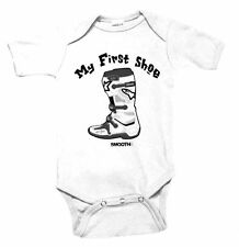 """NWT Smooth Industries """"My First Shoe"""" MX Boot Infant Romper, 6-12 month"""