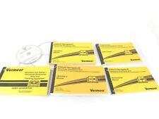 Vermeer D20x22 Navigator Manual Guide Book Set Dvd Horizontal Directional Drill