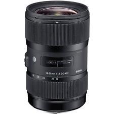 Sigma 18-35mm/1,8 DC HSM Art Weitwinkel Objektiv für Canon EOS APS-C System